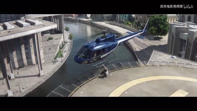 《美国队长三》中美队徒手拉下直升机……