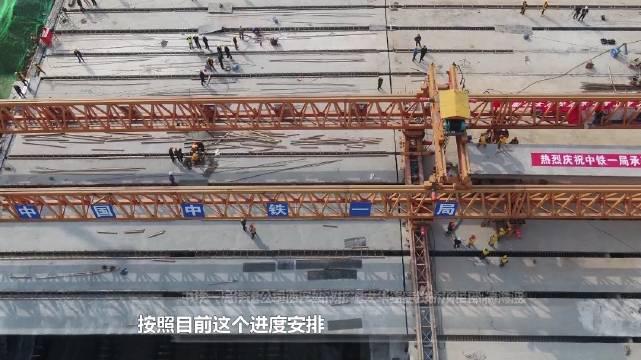 西安 太华路立交主线桥全桥贯通,改造11月中旬完工