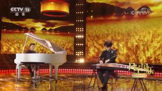 古筝演绎《在希望的田野上》,演奏 刘乐 方炜,作曲 施光南