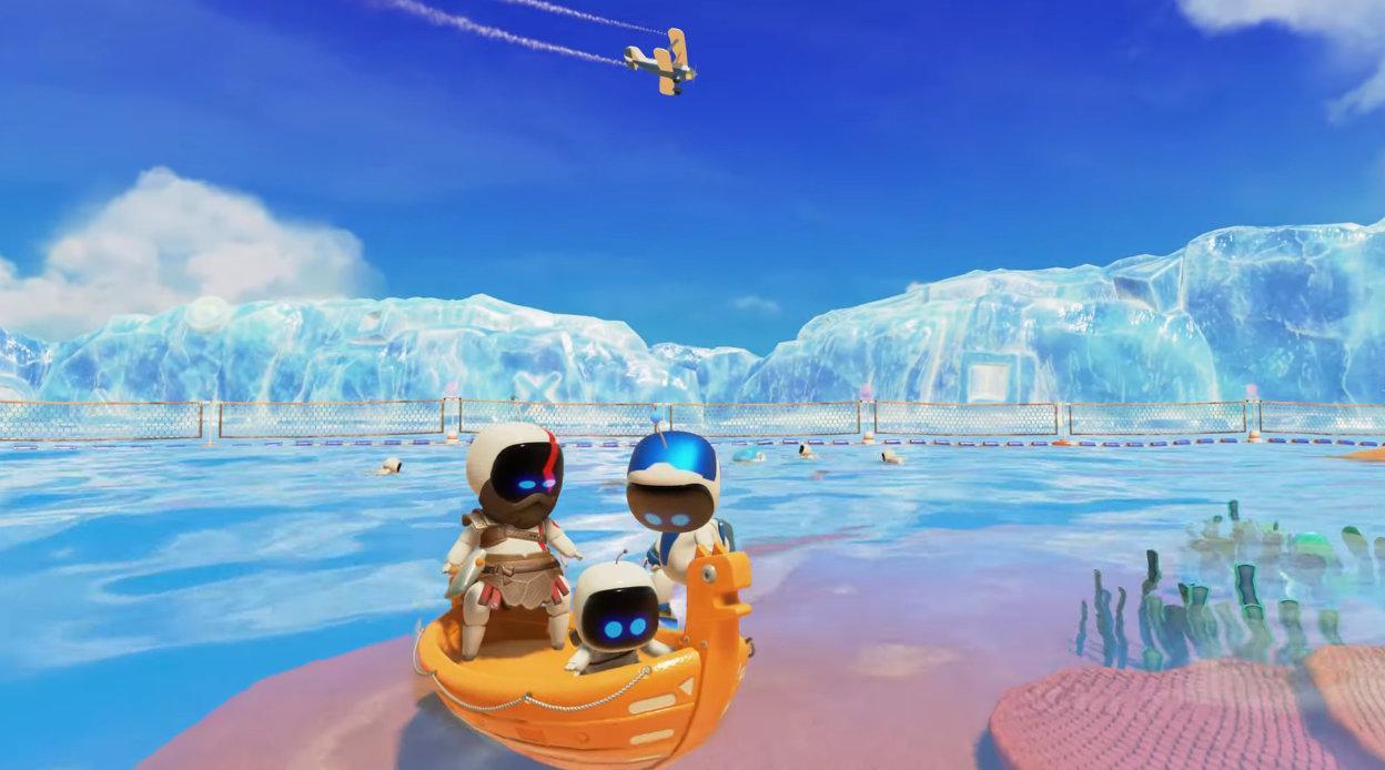 由IGN带来的PS5《宇宙机器人:游戏室》实际游戏演示!