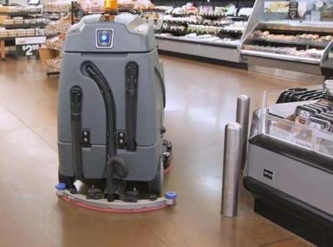 美国沃尔玛卖场的最新雇员:打扫卫生外加收集数据的免费员工