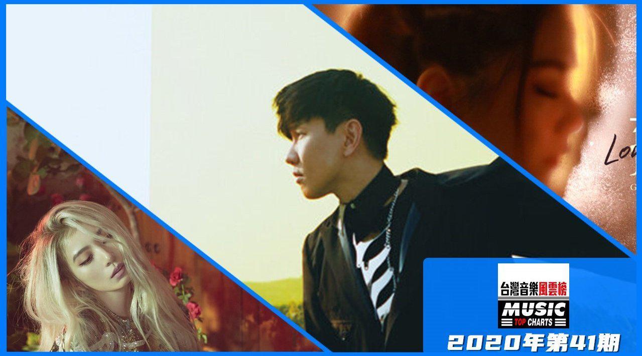台湾音乐风云榜2020年第41期 林俊杰《交换余生》重返榜首!