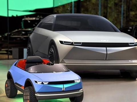 现代发布最小尺寸电动车 单座设计搭应用情感自适应车辆控制技术