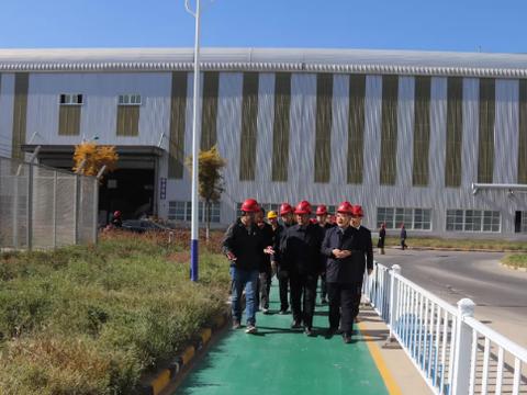 省审计厅党组成员、副厅长宋世华一行在兴县调研
