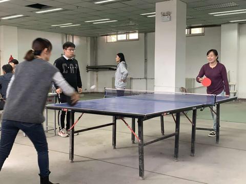 河北地质大学华信学院2020年教职工乒乓球联赛圆满结束