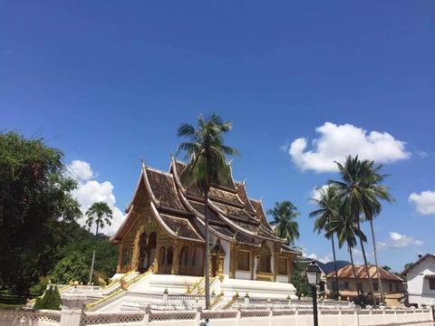 游览 东南亚 老挝 琅勃拉邦 王宫博物馆