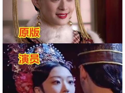 演员VS演员请就位,甄嬛差距大,洪世贤夸张,果郡王接受不了!