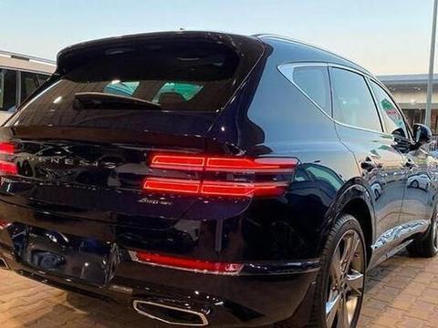 全新捷尼赛思GV80海外实拍 新车将搭载2.5T发动机