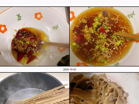 吃一碗热腾腾的酸辣荞麦面,人和胃都倍感温暖