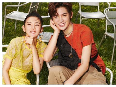 北电在校生拍情侣杂志,王俊凯超绅士,看到吴磊:妥妥的炸街姐弟