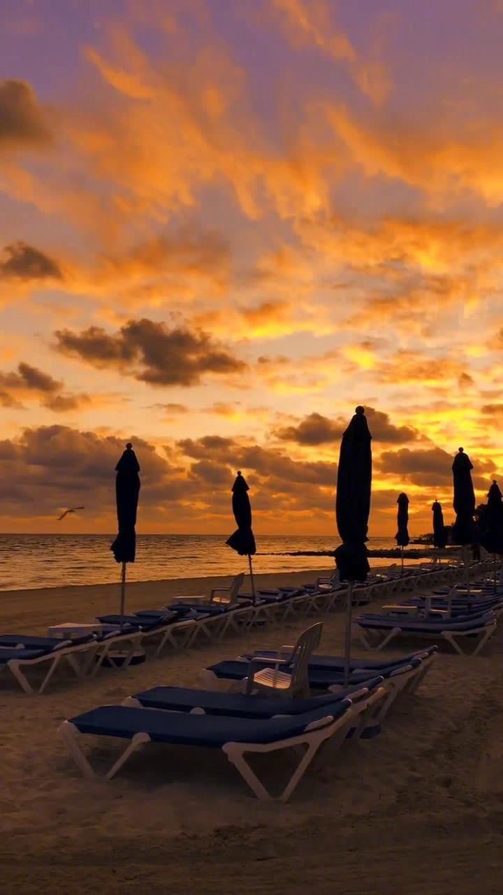 坎昆 墨西哥 加勒比海 推开窗即是景