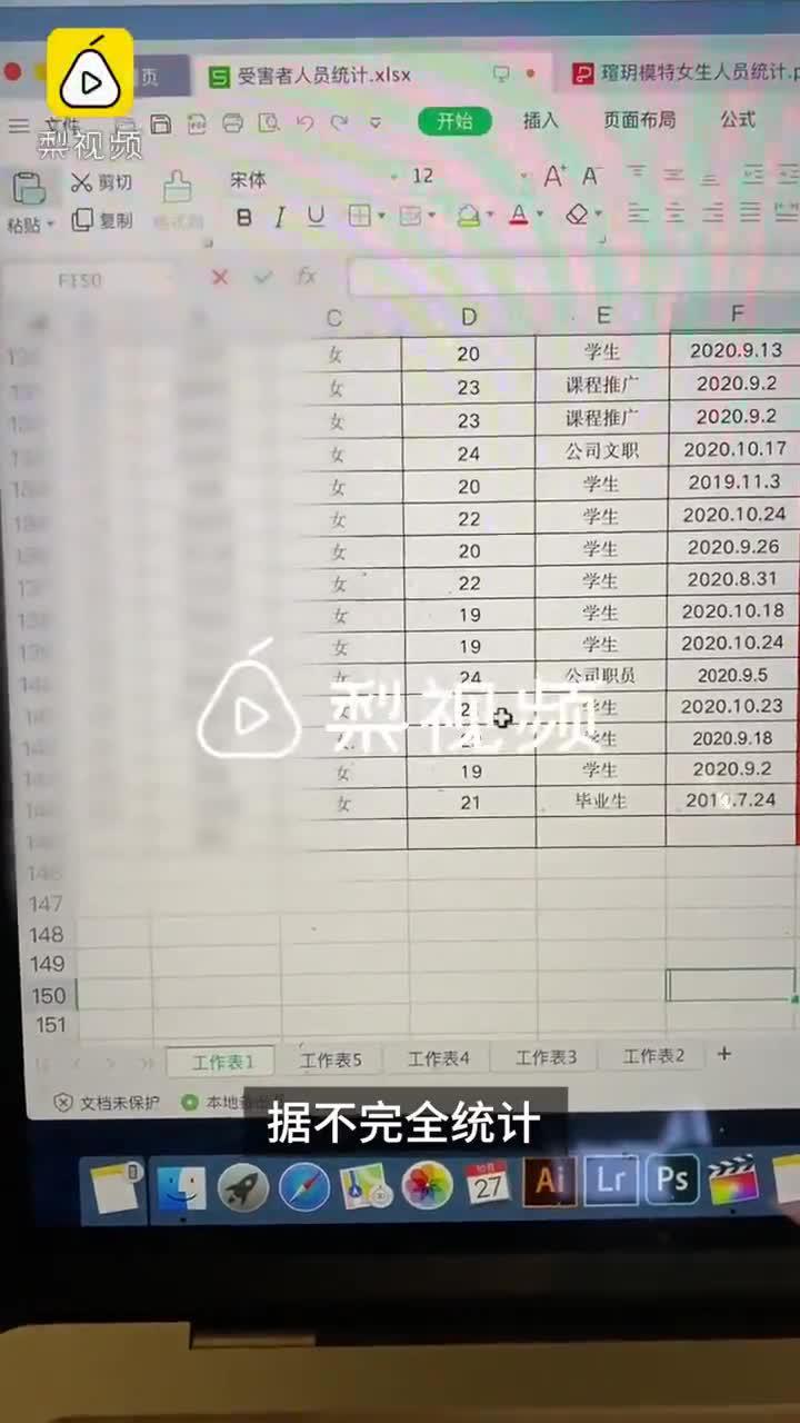 143名女生称遭瑄玥模特公司套路贷款,加上利息共计65万