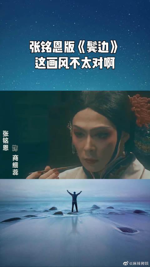 张铭恩版《鬓边不是海棠红》 这画风好像不太对啊!诡异啊!!