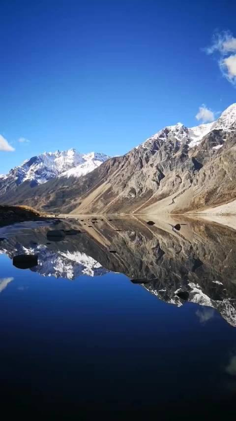没有滤镜的然乌湖竟然问那么迷人!