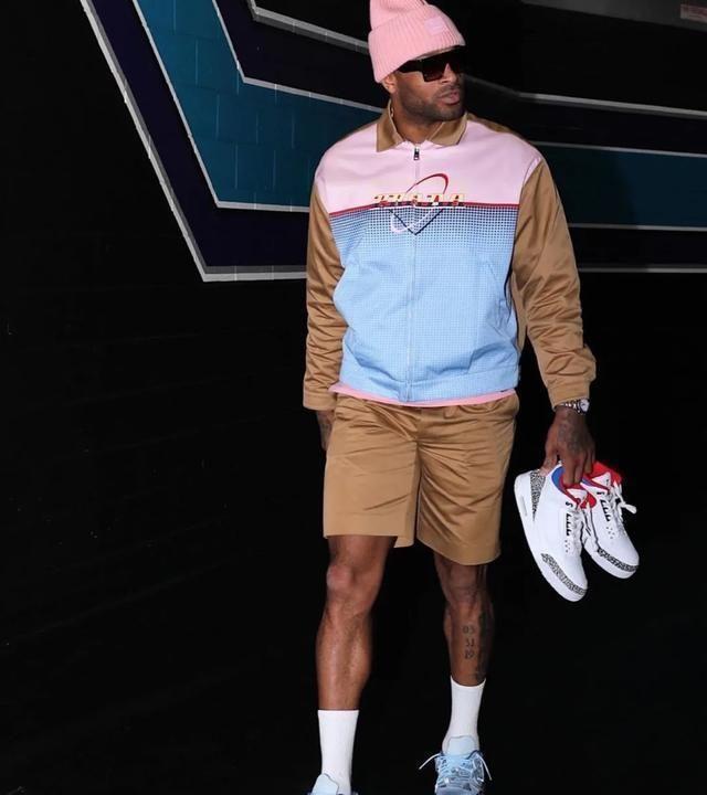 NBA球员上脚:鞋王塔克赛季十佳AJ,这些配色都太狠了