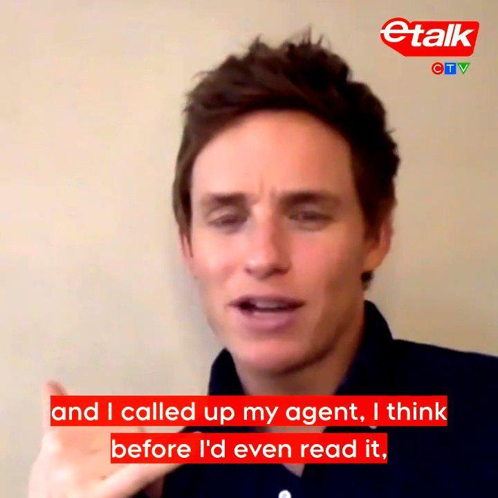 """近日,""""小雀斑""""埃迪·雷德梅恩在接受etalkTV采访时表示……"""