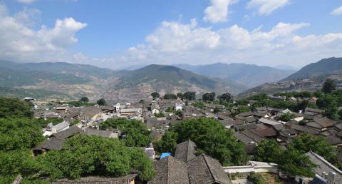 云南这座深藏山中的古镇,坐落在茶马古道之上,低调但又不失魅力