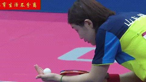 陈梦战例谈乒乓球发球的旋转,如何判断制造不同旋转