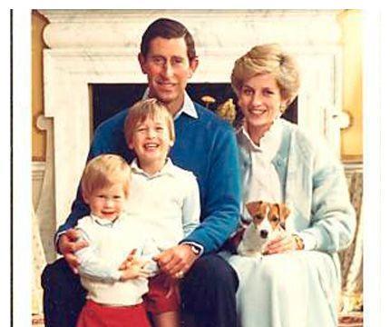 戴安娜王妃偏爱哈里多过威廉!背后心酸原因跟王室有关!