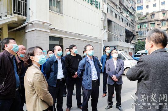 黄石市委常委、常务副市长徐继祥调研黄石市中医医院建设工作