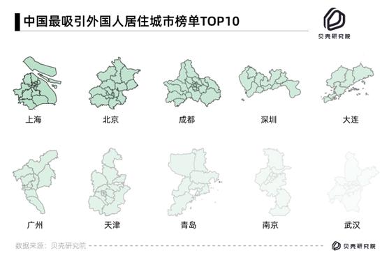 外国友人在中国咋居住?最喜欢北上广深,舍得花钱租大户型