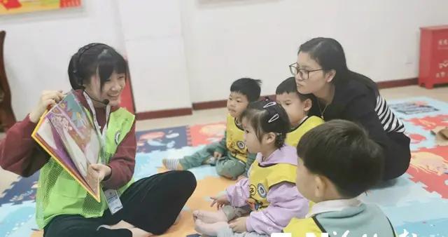 福州早教指导师志愿服务队首进社区