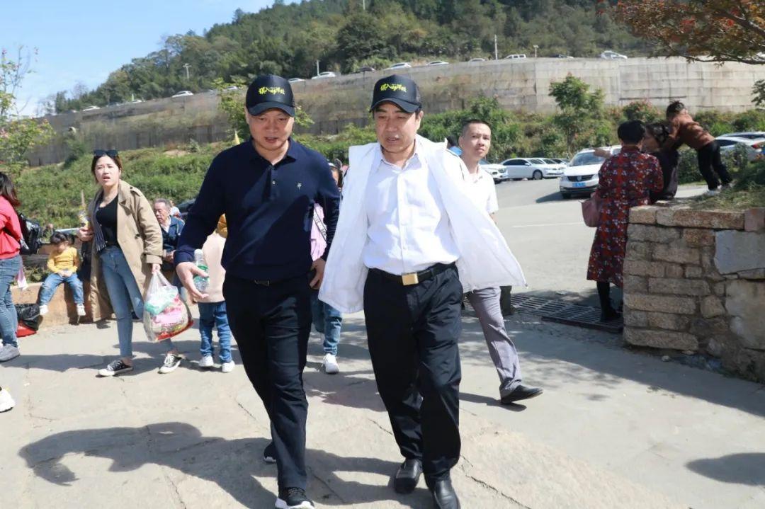 熊孙魁到广信区望仙检查旅游环境和旅游安全工作