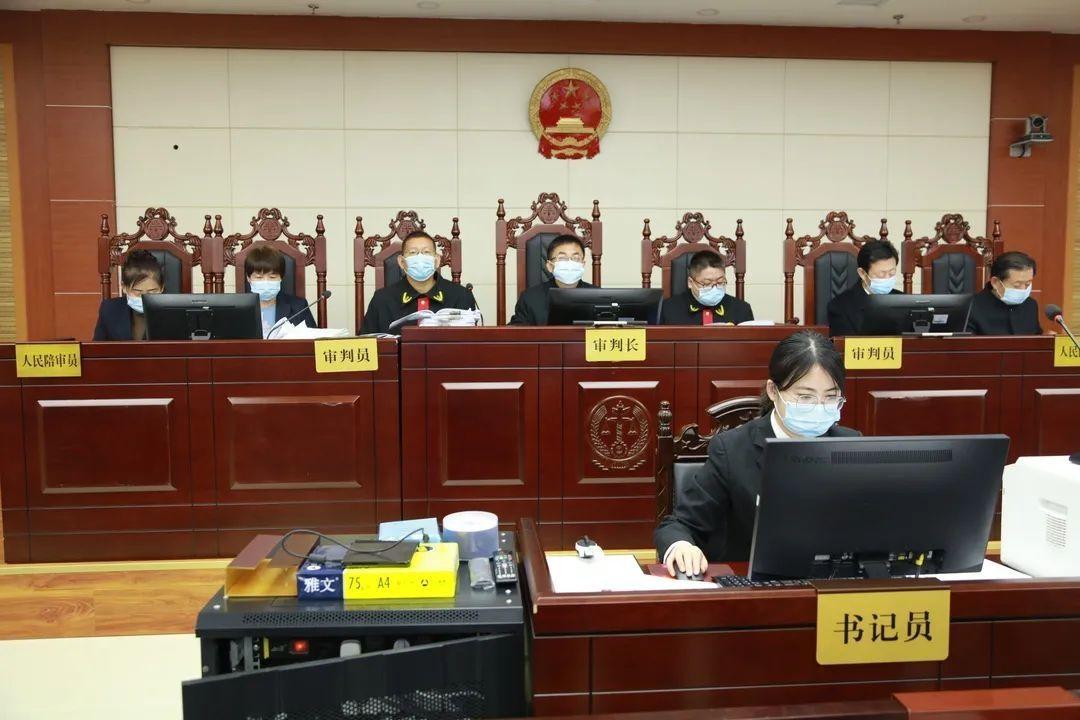 平罗法院公开开庭审理被告人王海等人组织、领导、参加黑社会性质组织案