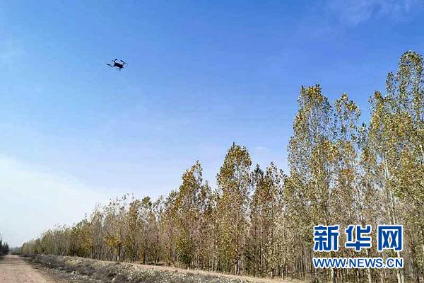 中卫森林公安:无人机护航生态文明建设