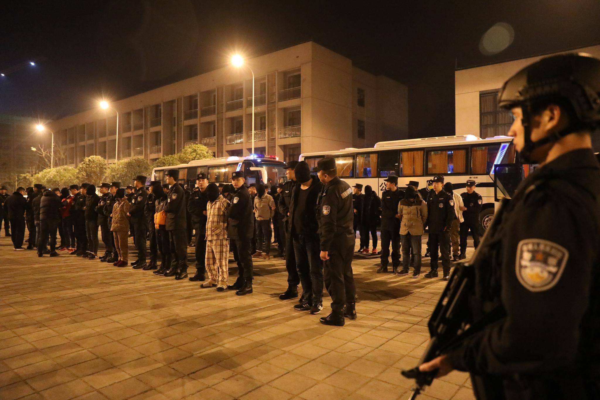 重庆警方摧毁2个特大跨境绑架勒索犯罪集团 解救人质7名图片