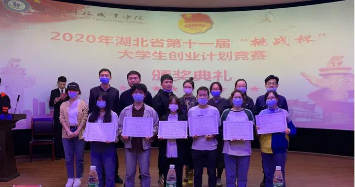 """5项目获奖,湖北科技职业学院实现""""挑战杯""""赛事零的突破"""