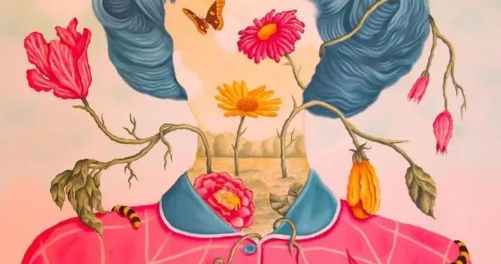 超凡的想象力~巴西画家拉斐尔·西尔维拉超现实主义肖像插画作品