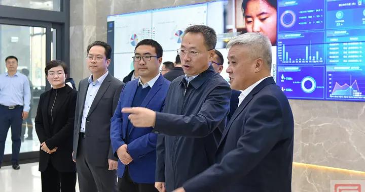 晋城高平:胡晓刚调研大数据中心建设工作