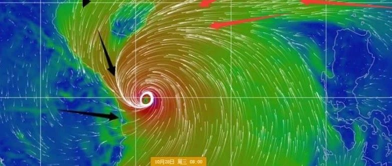 """全国大寒潮+成堆秋台风!16级!2020南海风王""""莫拉菲""""来袭,还有新台风或登陆我国"""