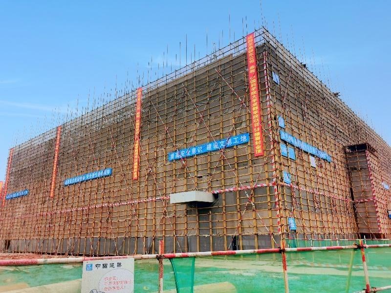 提前40天!中国科学院大学成都学院八栋主体工程顺利封顶