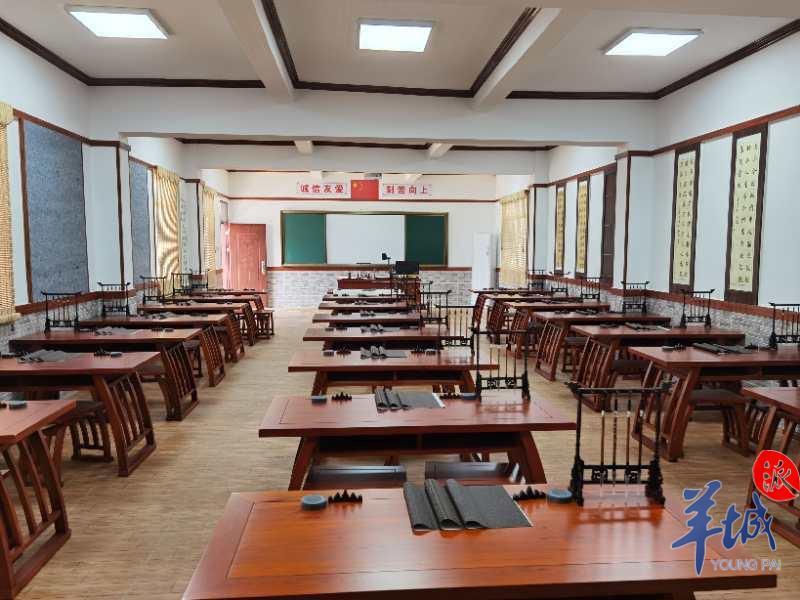 """肇庆市政协资建""""扶志""""校,山村娃也能学艺术"""