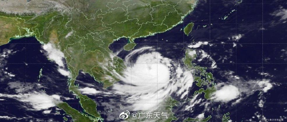 什么?还有台风?还是南海风王?!惠州发布红色预警信号……