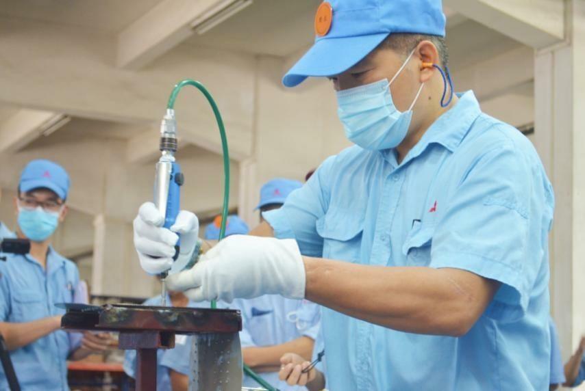 金羚集团三菱重工金羚空调器有限公司与江南街道联合举办职工职业技能劳动竞赛