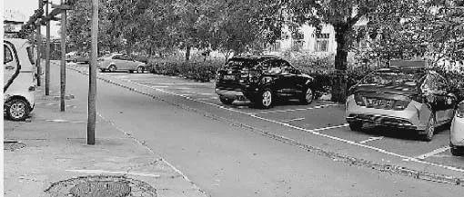 【创城民意直通车】建行小区施划百余个停车位