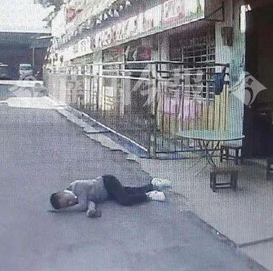 民警连接三单报警,两男一女倒在柳州街头,太危险了!