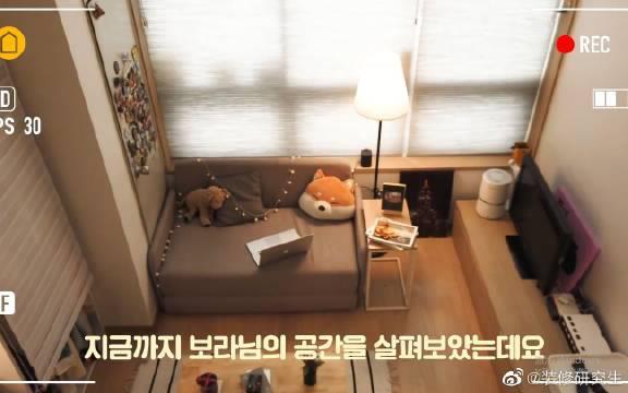 参观韩国空姐小姐姐的家,只有9平米的loft小公寓!
