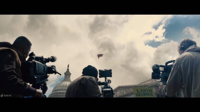 漫威:蝙蝠侠大战超人:正义黎明 ,超人在美国国会