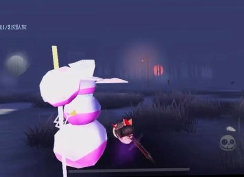 第五人格:又是奇怪的BUG,医生身体离奇失踪,雪人变五颜六色