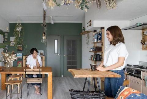 """这对日本夫妇爆改小公寓走红朋友圈,网友:40㎡的小屋""""美""""到哭"""