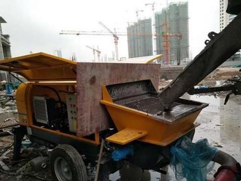 细石混凝土输送泵在使用中的保养工作怎么做
