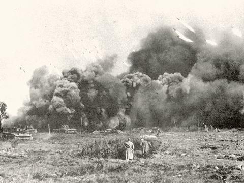 顿涅茨河上的风暴,苏军在北部形成突破,却是哈尔科夫惨败的开端