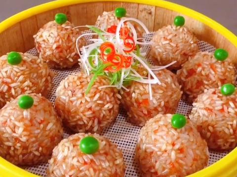 莲藕丸子:这种做法还是第一次见,外酥里嫩,来客人做一份特有面