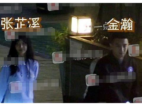 金瀚张芷溪公布恋情,两人认识过程超甜,老板赵丽颖太沉得住气