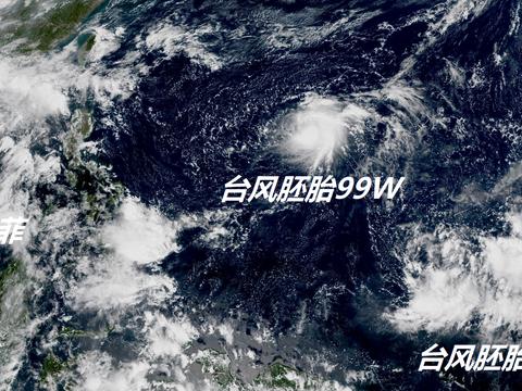 台风窝继续炸锅!太平洋三风暴混战,超级计算机:新台风很快就来