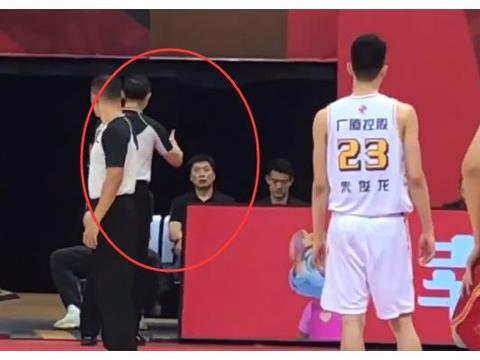 四消息:孙悦一阶段报销,朱世龙谈连败,刘维伟生气,广厦被警告